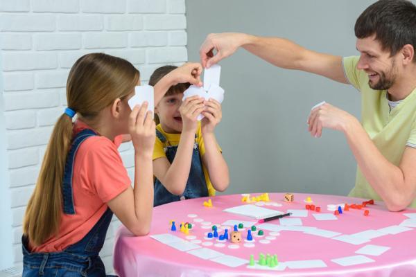 Juegos para niños hiperactivos - Juegos de mesa
