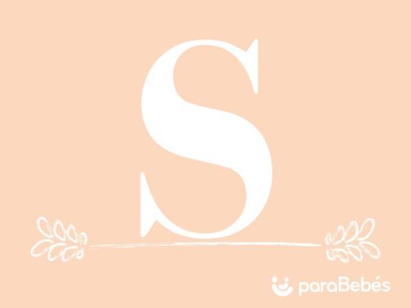 Nombres de niña con la letra S