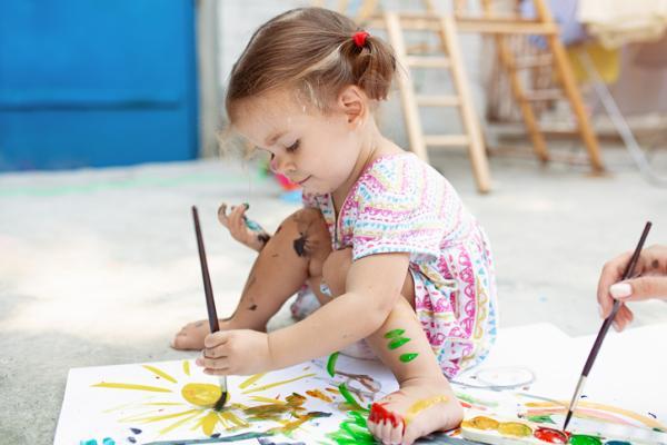 Juegos para niños hiperactivos - Pintamos en film