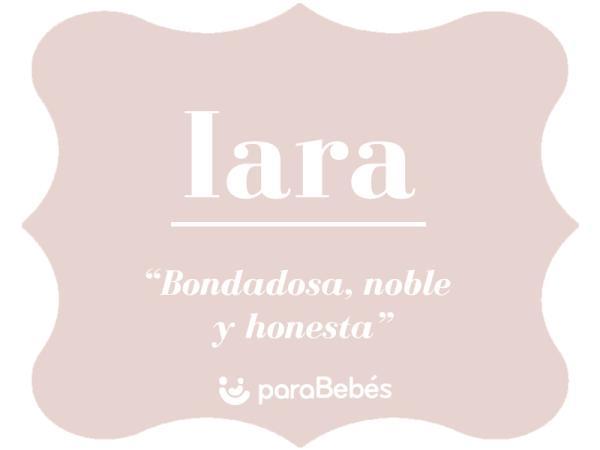 Significado del nombre Iara