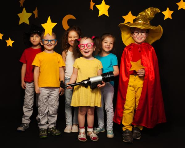 Juegos para niños hiperactivos - Somos actores