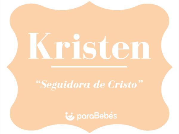 Significado del nombre Kristen