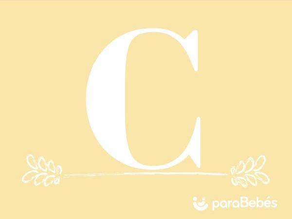 Nombres de niño con la letra C