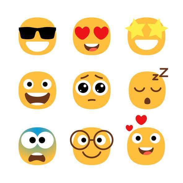 Manualidades para trabajar las emociones - Emoticonos sociales