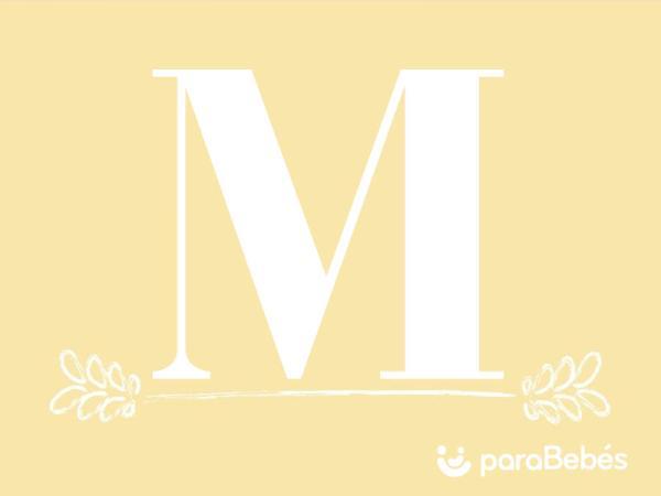 Nombres de niño con la letra M