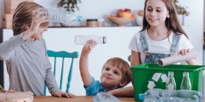 Juegos con material reciclado para niños
