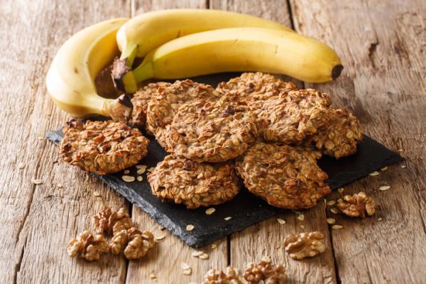Recetas para bebés de 1 año - Galletas de plátano y avena