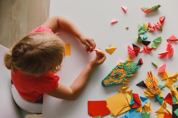 Actividades para niños con discapacidad auditiva - Origami