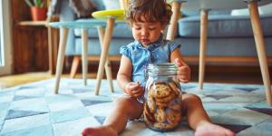 Cómo hacer galletas para bebés de 6 meses