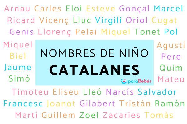 Nombres de niño catalanes