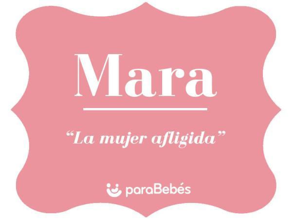 Significado del nombre Mara