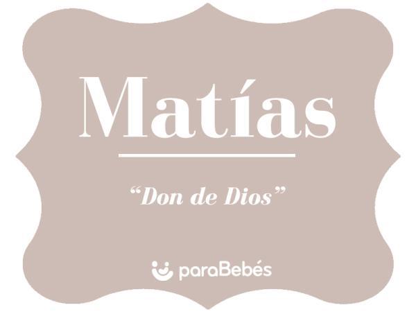Significado del nombre Matías