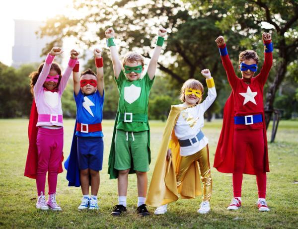 Juegos en grupo para niños de 4 a 5 años - Disfraces