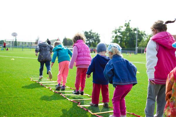 Juegos en grupo para niños de 4 a 5 años