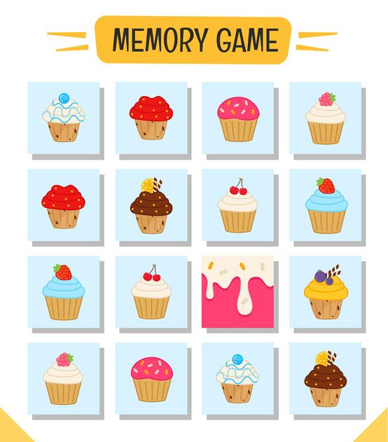 Juegos en grupo para niños de 4 a 5 años - Memory