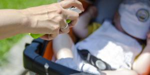 Repelentes de mosquitos para bebés