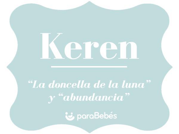 Significado del nombre Keren