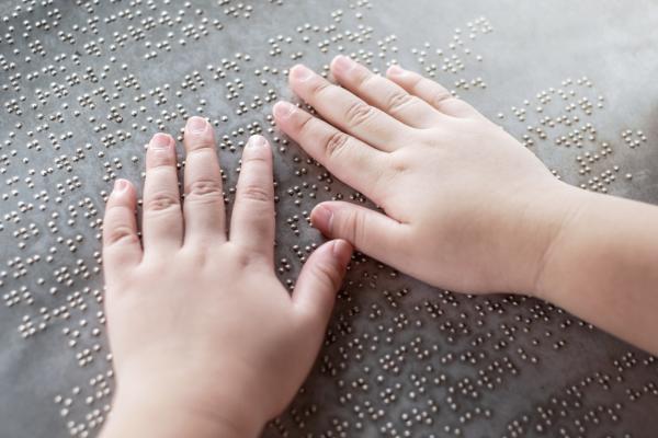 Actividades para niños con discapacidad visual