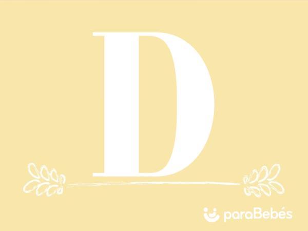 Nombres de niño con la letra D