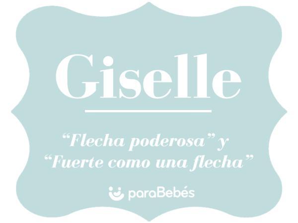 Significado del nombre Giselle