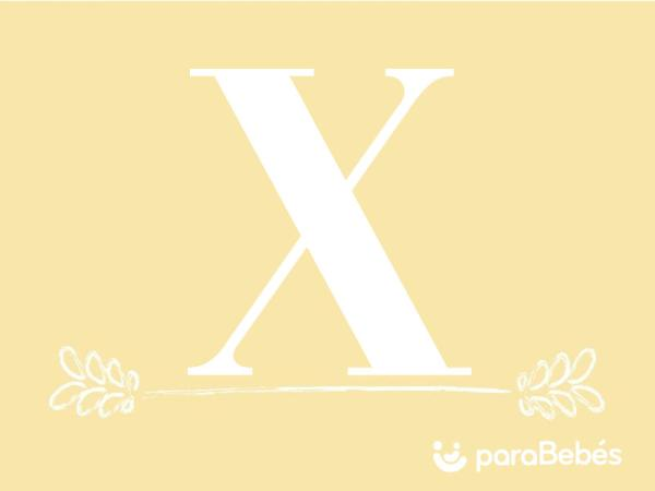 Nombres de niño con la letra X