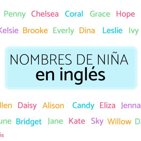 153 Nombres de NIÑA en INGLÉS - Y su Significado en Español