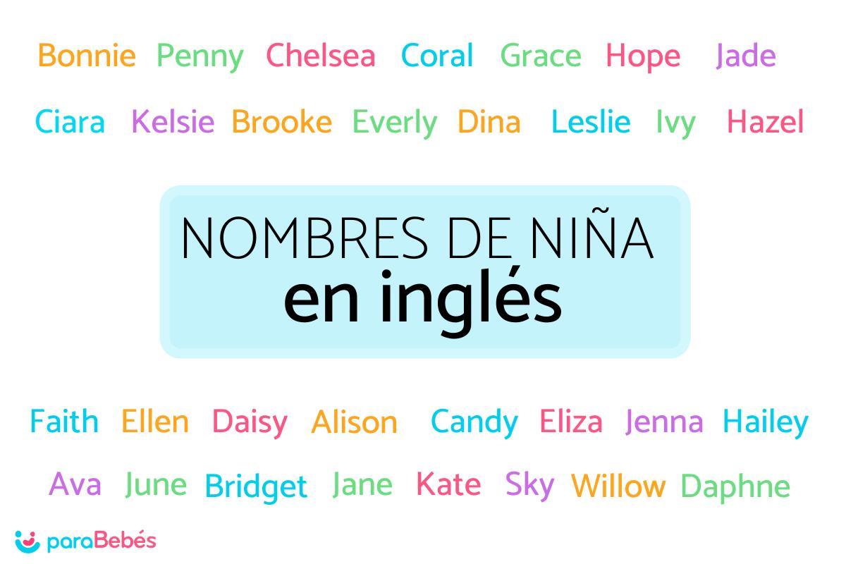 210 Nombres De Niña En Inglés Y Su Significado En Español
