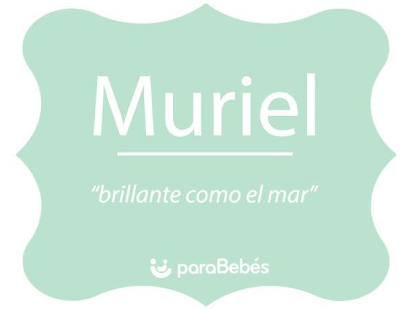 Significado del nombre Muriel