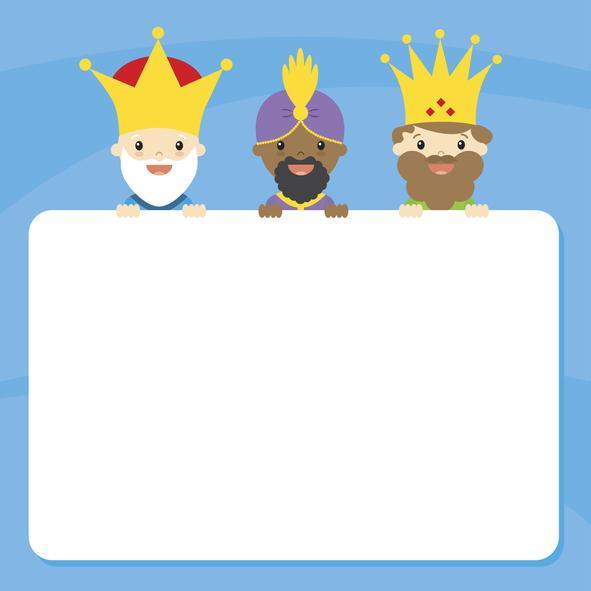 Manualidades de Navidad para niños fáciles - Escribir la carta de los Reyes Magos