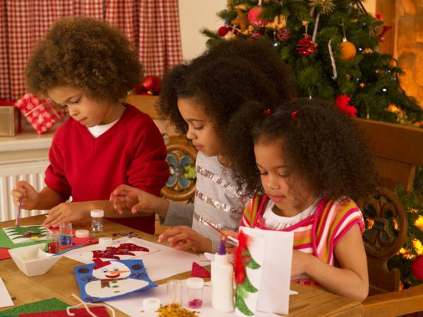 Manualidades de Navidad para niños fáciles