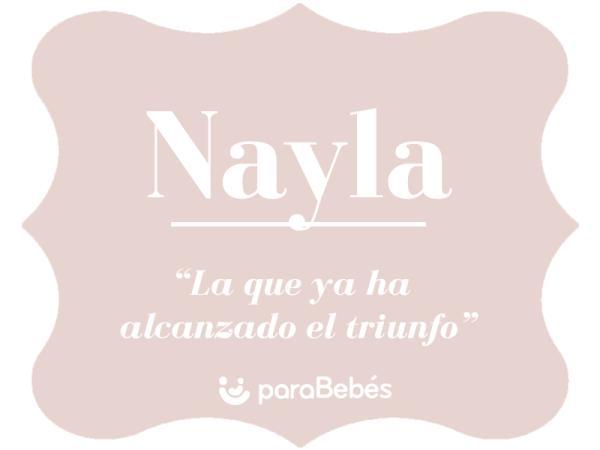 Significado del nombre Nayla
