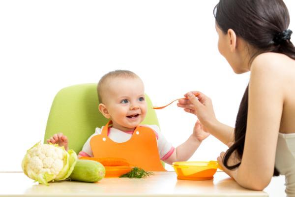 Verduras para bebés de 6 meses - Coliflor