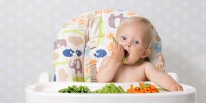 Verduras para bebés de 6 meses