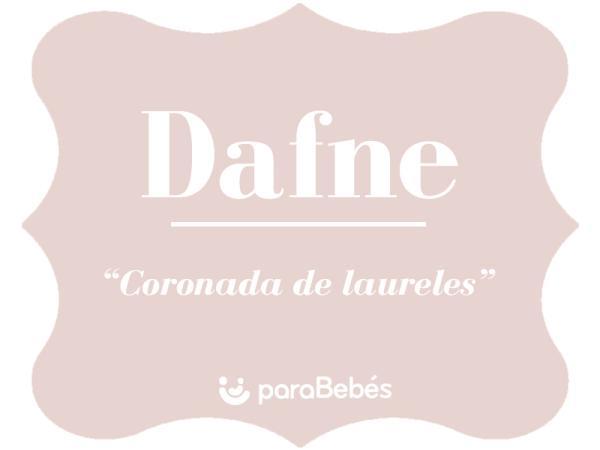 Significado del nombre Dafne