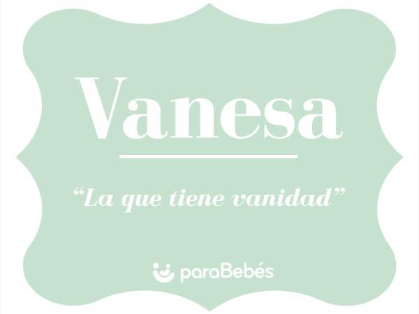 Significado del nombre Vanesa