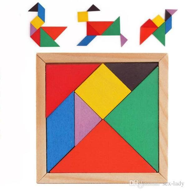 Juegos para niños con dislexia - Tangram