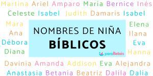 Nombres bíblicos de niñas y su significado