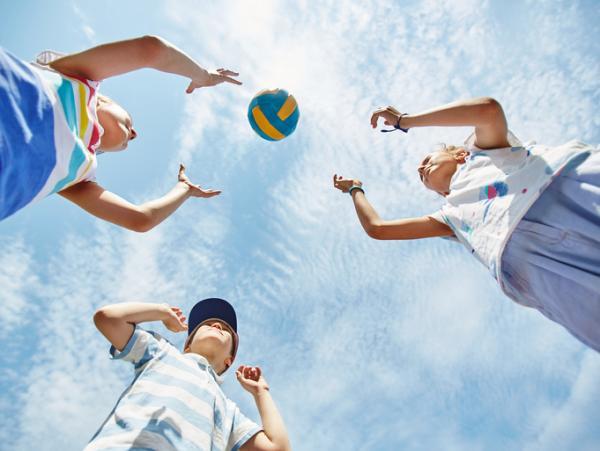 Juegos deportivos para niños - La mona