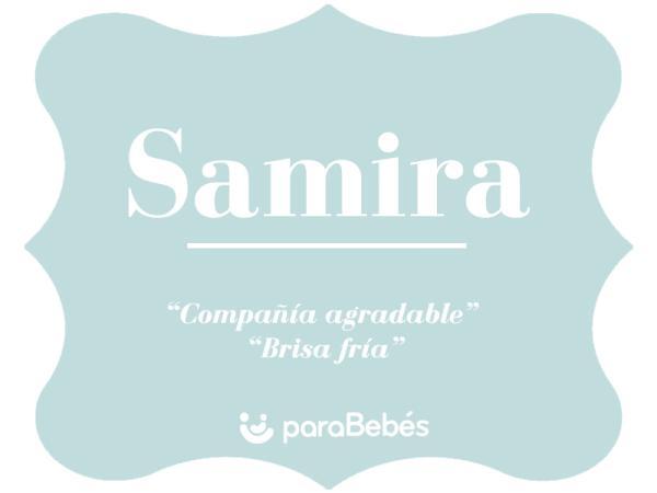 Significado del nombre Samira