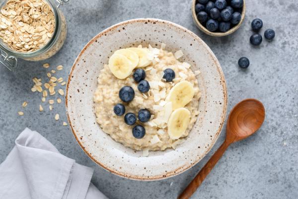 Recetas para bebés de 6 meses - Porridge de avena