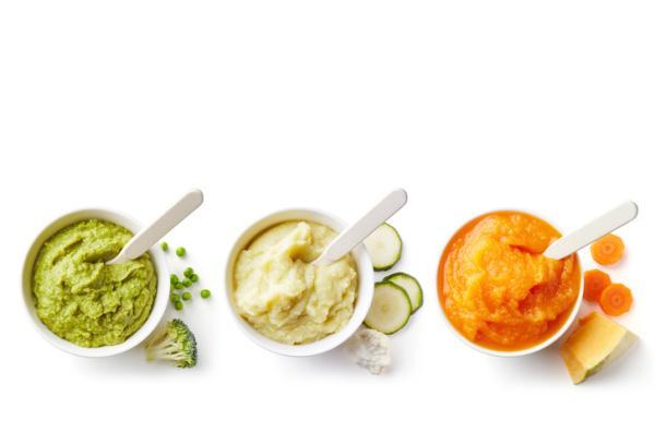 Recetas para bebés de 6 meses - Puré de verduras y arroz