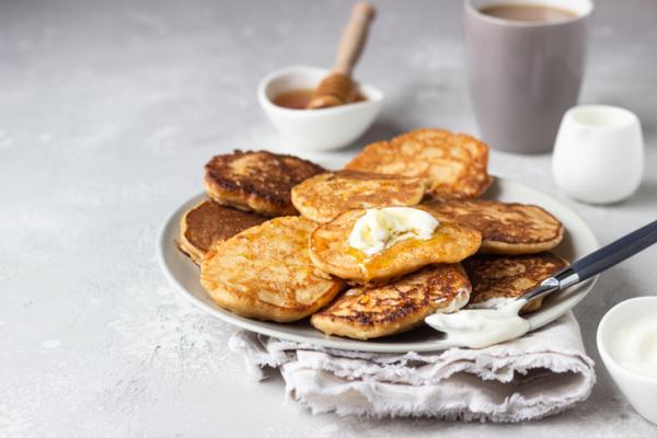 Recetas para bebés de 6 meses - Tortitas de cacahuete