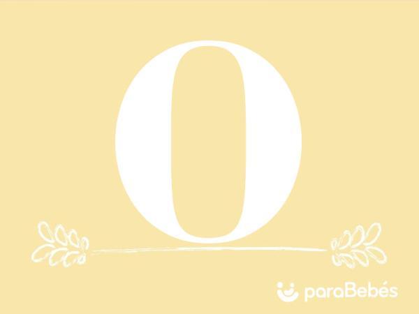 Nombres de niño con la letra O