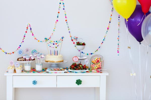 Ideas para el primer cumpleaños de un bebé - Aperitivos