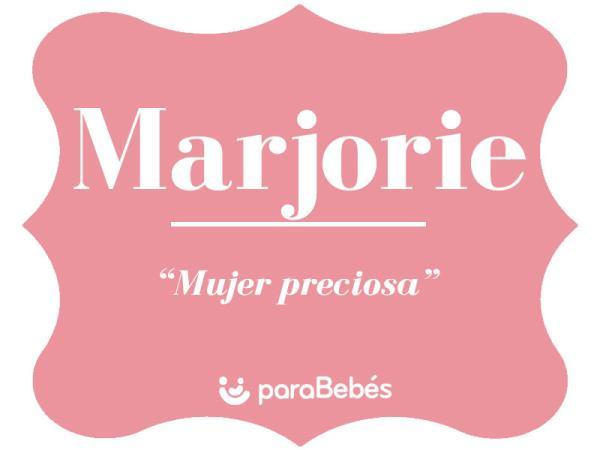 Significado del nombre Marjorie