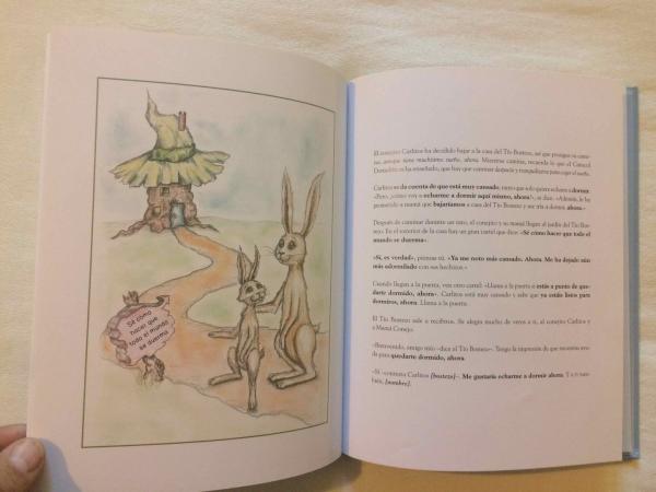 Cuentos cortos infantiles para dormir - El conejito que quiere dormirse. Editorial Beascoa