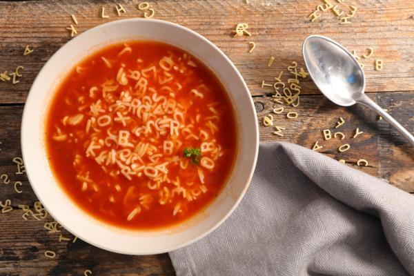 Juegos para aprender a leer y escribir - Comer sopa de letras