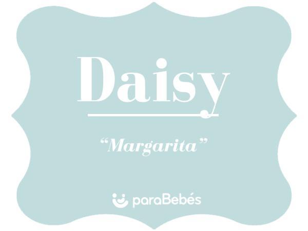 Significado del nombre Daisy