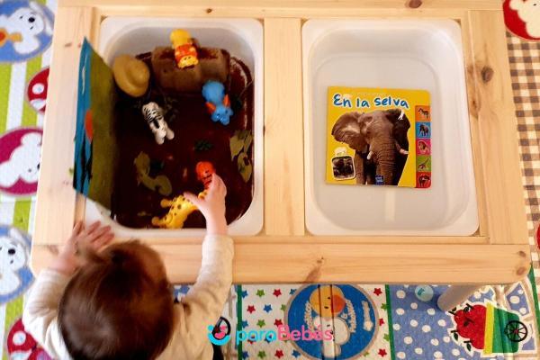 Juegos para bebés de 1 año -  Mundos de animales