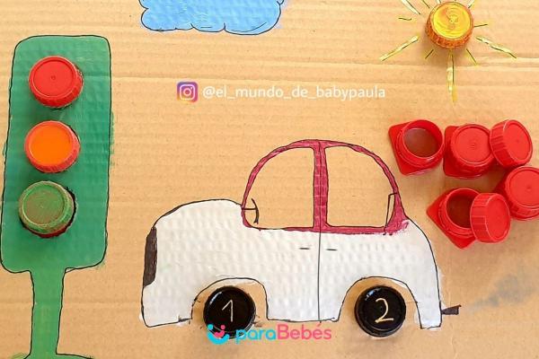 Juegos para bebés de 1 año - Tapones